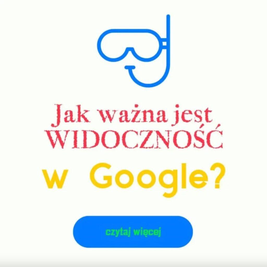 widocznosc w google