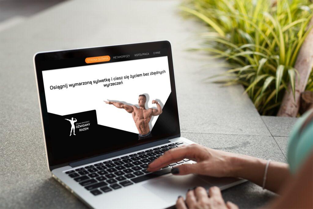 strona internetowa trener personalny